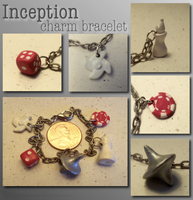 Inception Charm Bracelet by Hedgehogscanfly