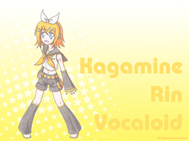 Wallpaper - Kagamine Rin by Madoris