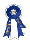 Windgate Stables Second Place Ribbon by qannekke