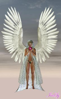 Ascending Angel v1 by IceSyDesigns
