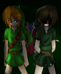 Link And Ben by X-Emo-Vampire-X