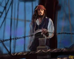Captain Jack Sparrow by DreamyArtistRoxy3