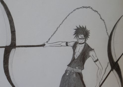 Shuuhei Hisagi by LithiumsGallows