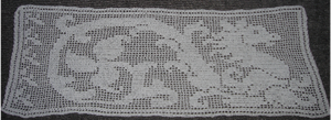 Dragon Filet Table Runner by Laicristiel