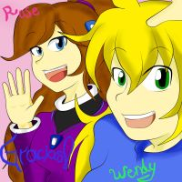Rose y Wendy owo)7 by WndN3
