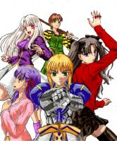 Fate Stay night by screwston12