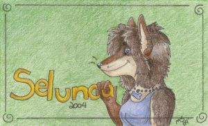 My Conbadge by selunca