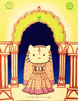 Hello Kitty Rajasthan by msilvestre