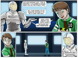 Ben 10 and White Knight by lilmarisa