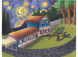 Starry Night Over Alabama by jesus-at-art