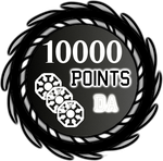 10000 Points by TheRedCrown