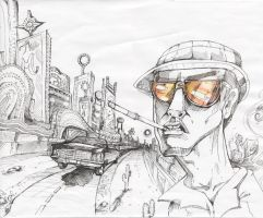 Fear and Loathing in Las Vegas by crazieburd