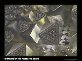 invasion of the pixelated boxes by fraterchaos