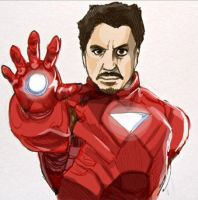 Iron Man by Yellowbellyhill
