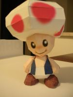 Toad Papercraft by Tiffyx