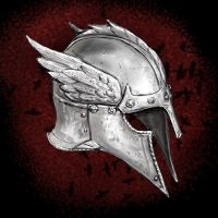 Crow Winged Helmet by dashinvaine