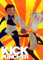 THE POWER OF KICKS by arty-mis