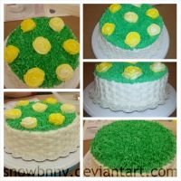 Cake Decorating Class Final by SnowBnny