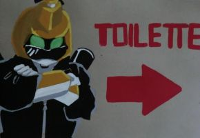 Toilet by LadyBee-Moy