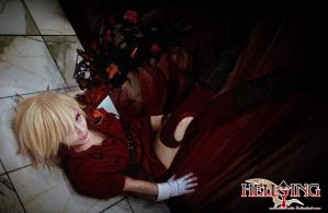 Hellsing Cosplay - Seras Victoria - Darkest Hour by Redustrial-Ruin