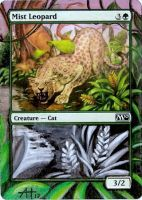 Mist Leopard altered by Torako-chan
