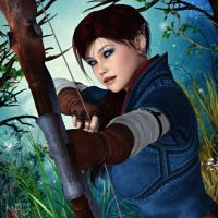 Ranger of the Woodlands by RavenMoonDesigns