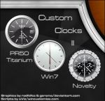 Custom Clocks II_gadgets by relhom