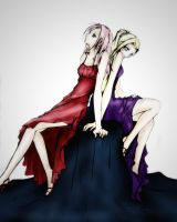 Evening Gowns by uchihaavatar21