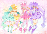 Sugar Rush Precure! by Hacuubii