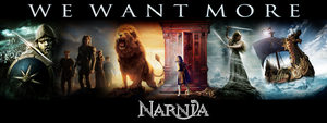 WE WANT MORE NARNIA by Archer-AMS