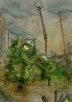 Willow Stalk by FoxInShadow