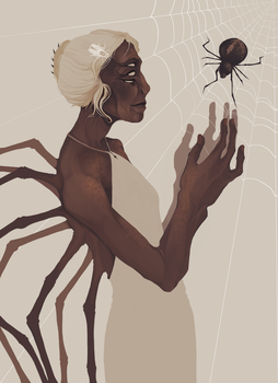 spider by rottingworm