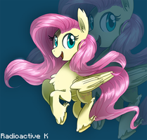 Fluttershy ~ by Radioactive-K