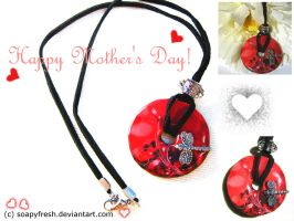 Mother's Day Pendant by SoapyFresh