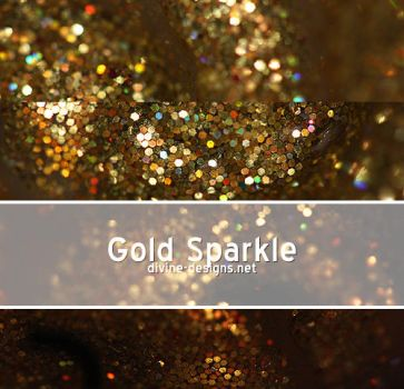 Gold Sparkle by TehAngelsCry