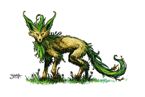 Leafeon by Heri-Shinato