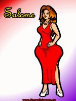 Salome - Profile Pic 01 (clothed) by rampant404