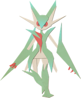 Mega Gallade by Paprik-a