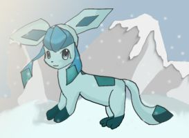 Glaceon by Chibixi