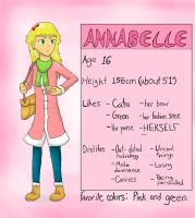 Annabelle (OC) by doodle-guy7
