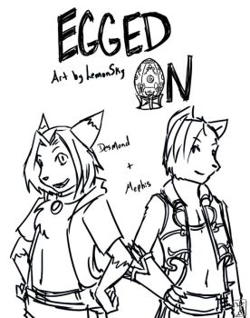 Egged On - Title by StrangeComet