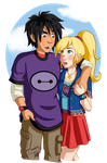C: Hiro and Ella by Starimo