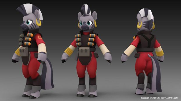 Team Fortress 2 Zecora by WarePWn3