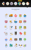 Shopping Icons by sandracz