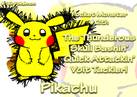 AMPic #16 (Remake): Pikachu, the Pokemon Mascot by AmpleDeviant