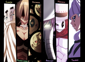 Clowns - Soul Eater |Color| |Collab| by Airest27