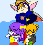 Two Sparkster fangirlz by TeamChelsea