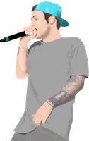 Mac Miller l VectorArt l 2012 by Drag-01