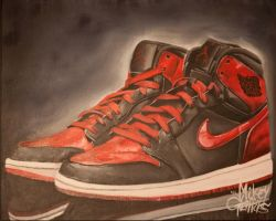 Air Jordan 1 by misternance