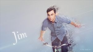 Jim Parsons - Wallpaper by Dead-Standing-Tree